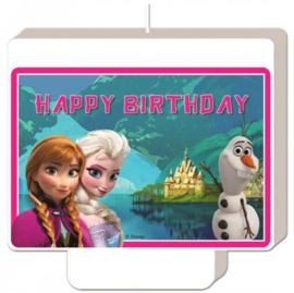 Disney Frozen Verjaardagstaart Kaars