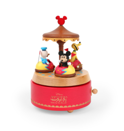 Mickey Mouse, Pluto, Donald Duck Muziekdoosje / Speeldoosje - Disney