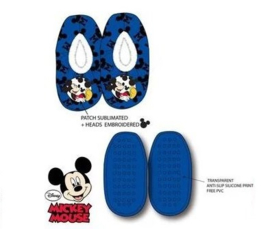 Mickey Mouse Pantoffel Slofjes - Blauw