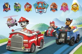 Paw Patrol Vehicles - Maxi Poster