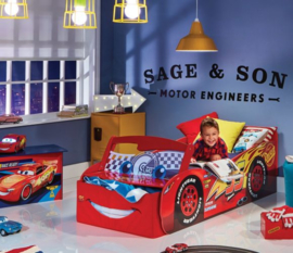 Disney Cars Autobed Kamer met Led - 3 delig - WorldsApart