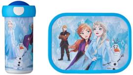 Disney Frozen2 Lunchset: Broodtrommel met Schoolbeker - Mepal