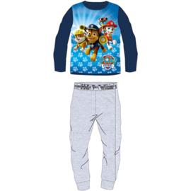 Paw Patrol Fleece Pyjama - Blauw/Grijs