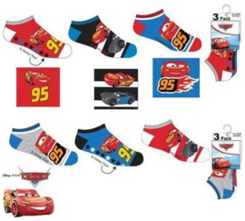 Disney Cars Sneakersokken - 3 paar