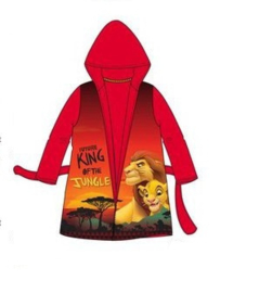 Lion King Badjas - Rood