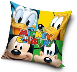 Donald Duck Kussen - Mickey, Pluto, Goofy