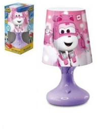 Super Wings Led Lampje - Paarse Voet