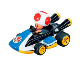 Super Mario Pull Back Kart 8 Toad - 17319
