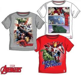 Avengers T-shirt - 4 t/m 10 jaar