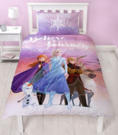 Disney Frozen Dekbedovertrek Journey 135 x 200 cm