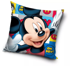 Mickey Mouse Kussen - Oh Boy