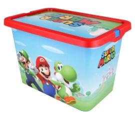 Super Mario Opbergbox - 7 Liter