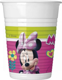 Minnie Mouse Feestbekers - 8 stuks