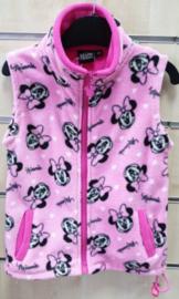 Minnie Mouse Bodywarmer / Vest Fleece - Licht Roze - Disney