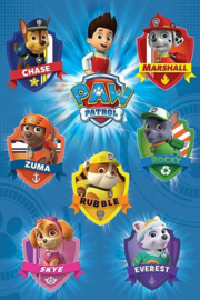 Paw Patrol Maxi Poster - Crests