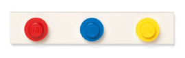 Lego Kapstok - Rood, Blauw, Geel