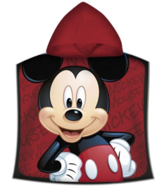 Mickey Mouse Badponcho - Sneldrogend