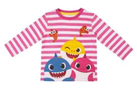 Baby Shark Longsleeve - Roze