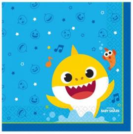 Baby Shark Servetten - 16 stuks