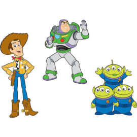 Toy Story Foam Muurstickers - 3 stuks - Decofun