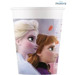 Disney Frozen2 Feestbekertjes - 8 stuks