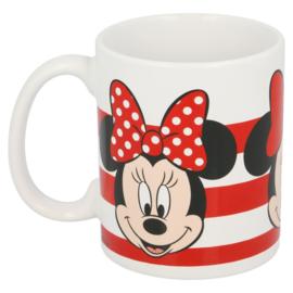 Minnie Mouse Mok Stripes - Keramiek