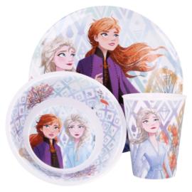 Disney Frozen 2 Kinderservies - Melamine