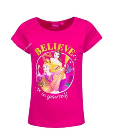 Disney Princess T-shirt - Fuchsia