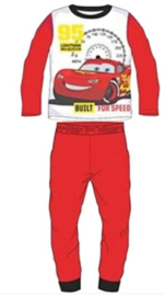 Disney Cars Pyjama Rood - Built for Speed - Maat 128