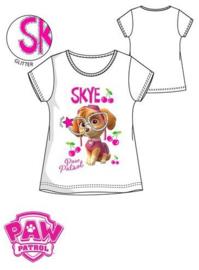 Paw Patrol T-shirt Skye - Wit