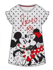 Minnie en Mickey Mouse Nachthemd - Grijs