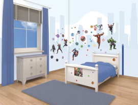 Avengers Muurstickers Room Decor Kit - Walltastic
