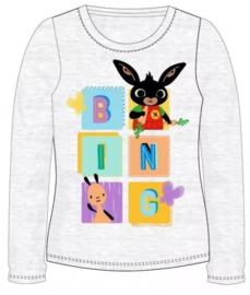 Bing Konijn Longsleeve Shirt - Grijs