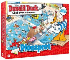Donald Duck Puzzel - 1000 stukjes - Plonspret