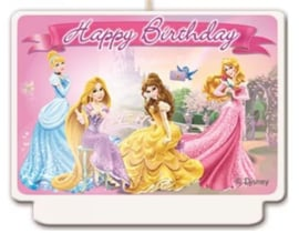 Disney Princess Verjaardagstaart Kaars
