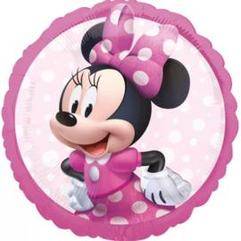 Minnie Mouse Folie Helium Ballon - Hervulbaar