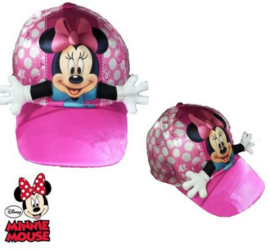 Minnie Mouse Baseball Cap 3D - Maat 52/54