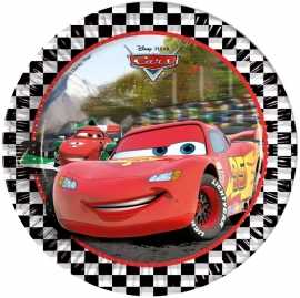 Disney Cars Feestbordjes / Gebaksbordjes - Formula