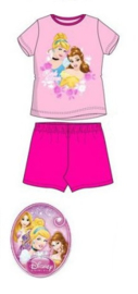 Disney Princess Shortama - Fuchsia/Roze