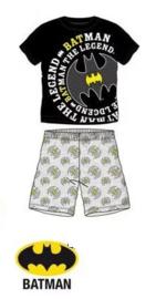 Batman Shortama - Zwart/Grijs