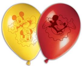 Mickey Mouse Ballonnen - 8 stuks