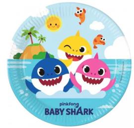 Baby Shark Feestbordjes - 8 stuks