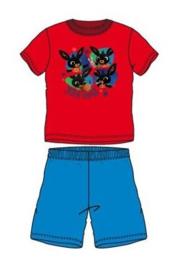 Bing Konijn Shortama - Rood/Blauw
