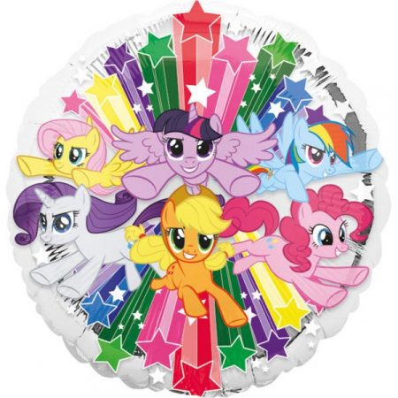 My little Pony Folie Helium Ballon - Hervulbaar