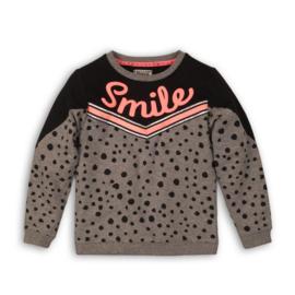 DJ Dutchjeans sweater 32020 Black/ Grey