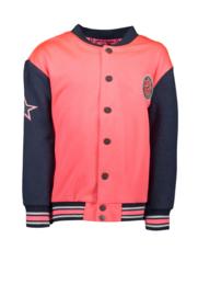 B.NOSY baseball jacket 5331 coral red
