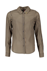 NoBell' striped blouse 3100 warm sand