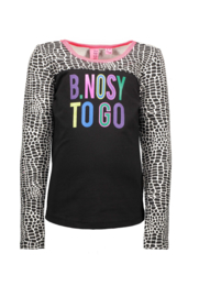 B.NOSY shirt 5413 black/ white  giraffe