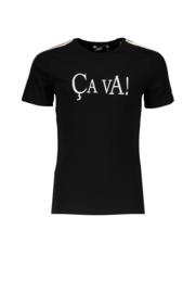 NoBell shirt Kanoux 3402 jet black