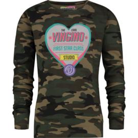 VINGINO shirt Jaice army all over